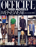 法国《L'OFFICIEL1000MODELS menswear+accessories》米兰/巴黎男装时装发布会杂志 全年2期